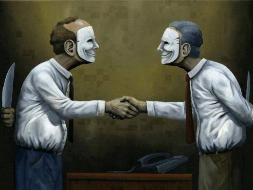 le masque social